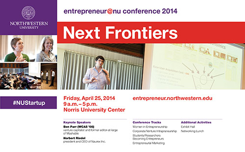 Next Frontiers e@nu 2013 Conference Poster